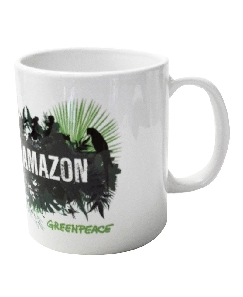 Taza desayuno Greenpeace Save the Amazon
