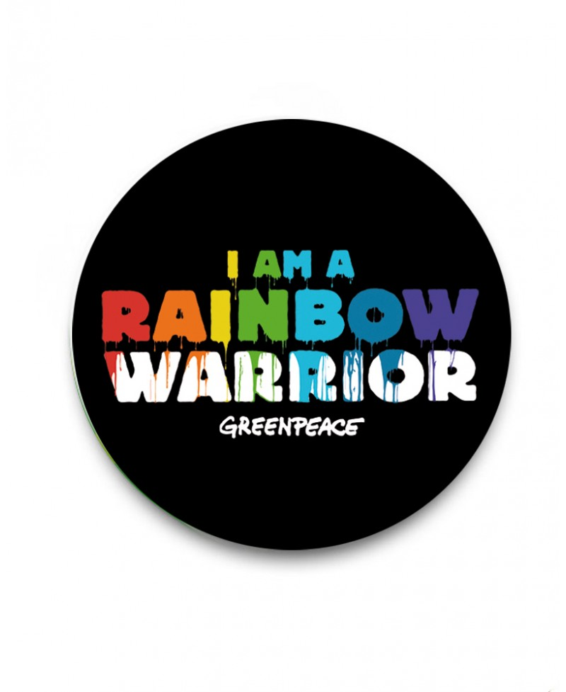 Chapa Greenpeace Rainbow Warrior
