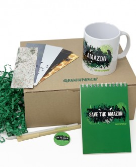 Caja regalo Save the Amazon Greenpeace